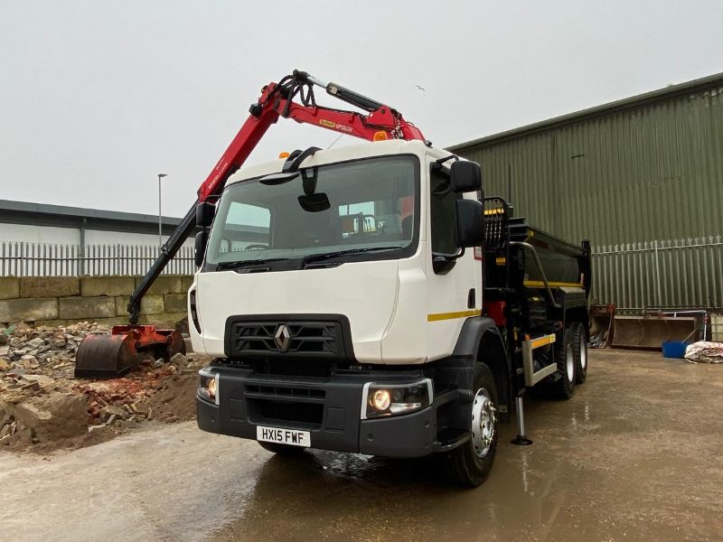 Poole Sand and Gravel grabber