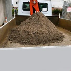 Poole Sand and Gravel loading screed