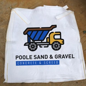 Poole Sand and Gravel empty bulk bags