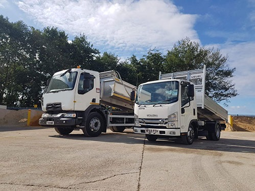 Poole Sand and Gravel tipper